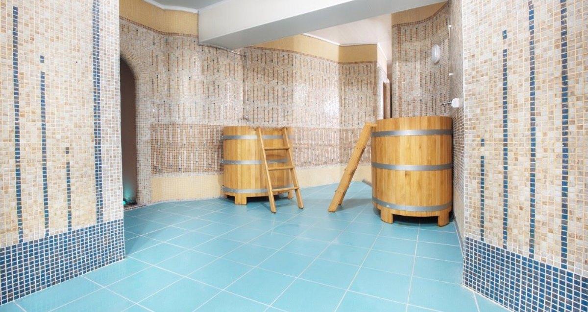 интерьер отеля «Аквамарин»