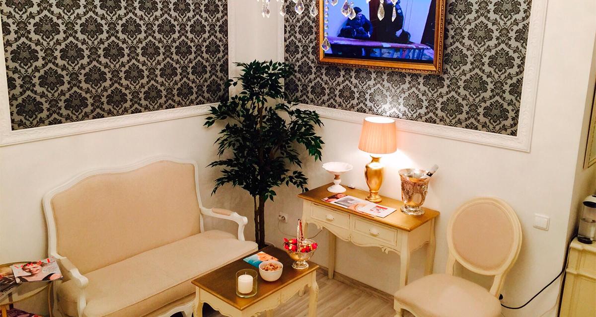 интерьер клиники красоты премиум-класса «Слава»