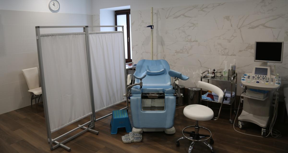 интерьер клиники «Dr. Эстетик»