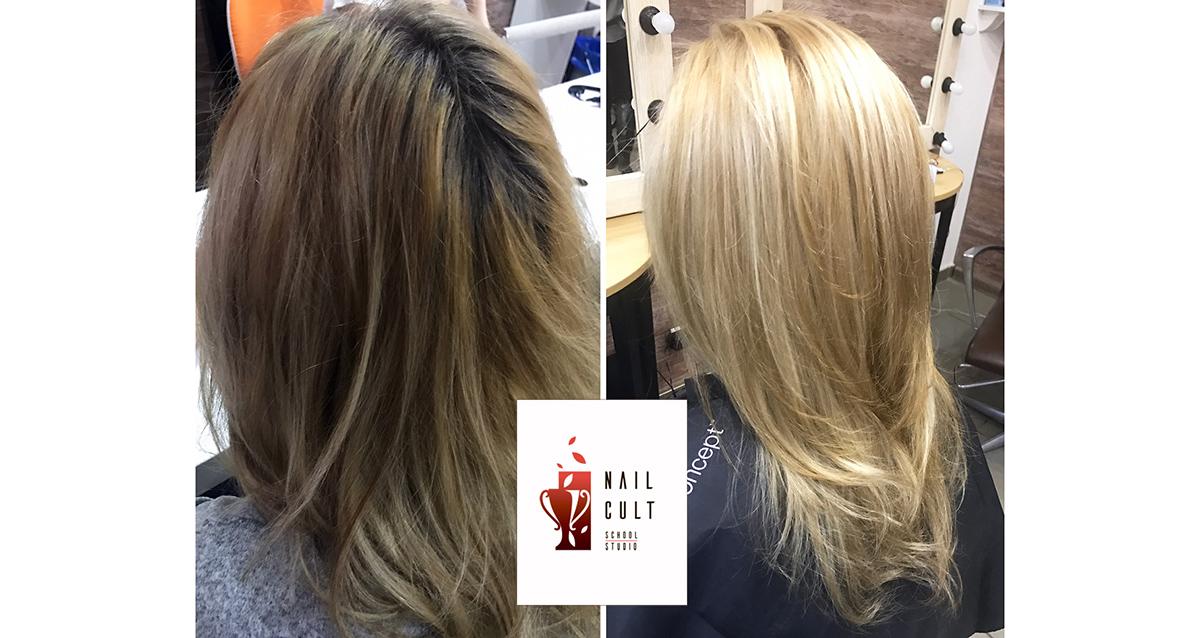 парикмахерские услуги студии красоты NAILCULT