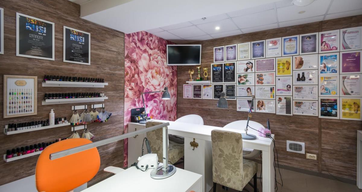 интерьер салона Sweet Lab