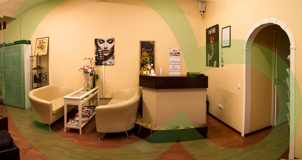интерьер салона красоты «Ваниль»