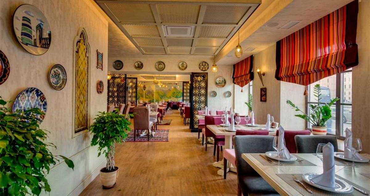 интерьер ресторана «Баязет»