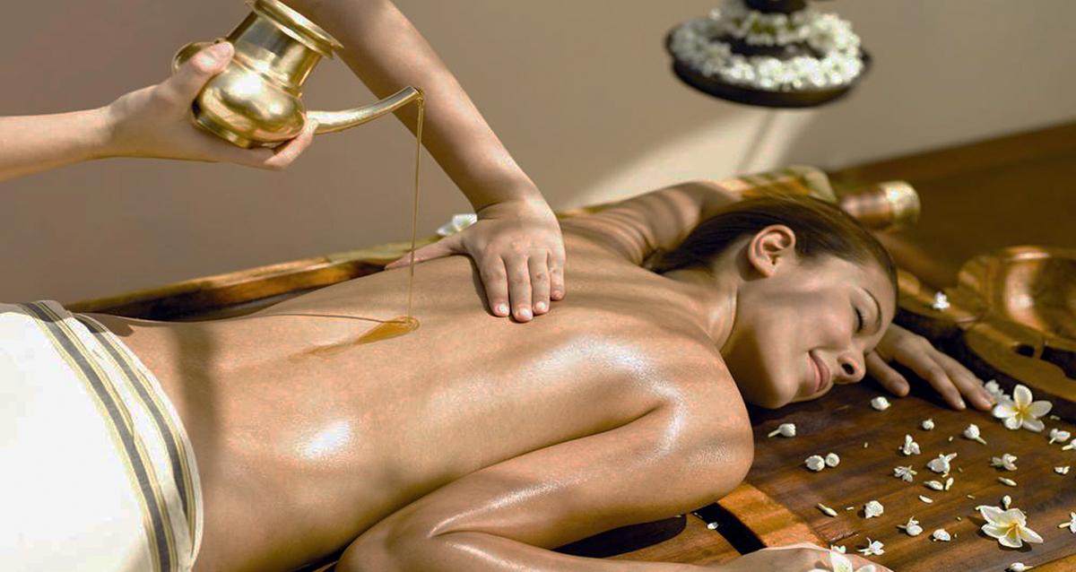 масляный массаж